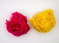 Polyester Heftklammer Faser Recycelte Kunststoffprodukte
