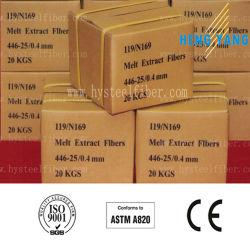 La fibre en acier inoxydable de haute qualité (SS430, 446, 304, 310)