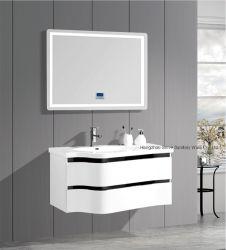 Casa de Banho da Bacia de vidro armário com espelho de LED com bom preço