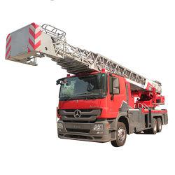 Lucht Diesel XCMG 53 Vrachtwagen 351 van de Brand van de Tank van het Water van de Ladder Yt53m1 van M Hydraulische - 450HP < 3000L Euro 5 Hand6X4
