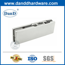 Boa qualidade de 10-12 mm Tampa de aço inoxidável Hardware no interior de alumínio fundido Porta de vidro Patch Inferior Lock
