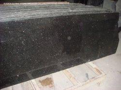 Indien polierte,/abgezogenes/geflammtes Weiß,/Grau zurechtgeschnittener Fliese-halbe Platte-schwarzer Galaxie-Granit für Innenaußenwand-Umhüllung-Fußbodenbelag-/die Pflasterung