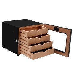 Непосредственно на заводе 4 лотков для бумаги крупных коммерческих деревянные дисплей сигарный кабинет