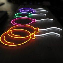 Китай производителя шаровых LED Neon Flex подписать с акриловым коврик для