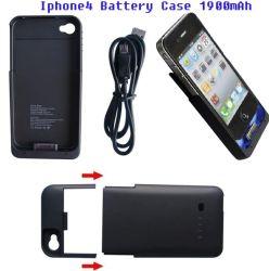 Chargeur de batterie de secours Étui pour iPhone4 (HS-CC01)