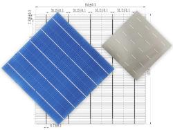 太陽電池 18.1% 〜 19.0% 高効率 5BB ポリ太陽電池 157mm ※ 157mm ハーフカットポリ太陽光発電ソーラーセルソーラーパネルモジュール