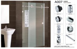 Chuveiro Rolete porta a porta corrediça Ymd Acessórios-1001