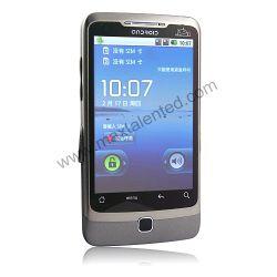 A5000 смартфон Android 2.2 WiFi с двумя SIM-карты GPS аналогового телевидения 3,5-дюймовый сенсорный экран мобильного телефона (MAX A5000)