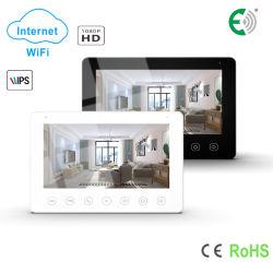 Cabo de 4 botões de toque WiFi Doorphone Intercomunicador de Vídeo HD