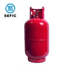 Qualidade elevada 15kg GPL vazio do cilindro de gás de enchimento de preços com válvula