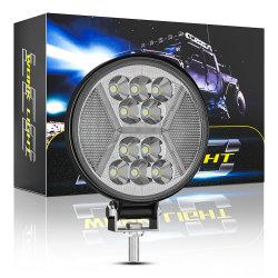 مصابيح LED الإضافية المركبة عالية الجودة 12 فولت 24 فولت للعمل مصباح الضوء لجنرال كار يومض مصباح الإضاءة المستديرة