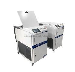 100W 200W 500W 1000W Laser de fibra de máquina de limpeza de óleo antiferrugem Pó de graxa na superfície oxidada