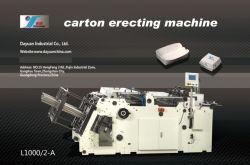기계 (L1350/4-A)를 건립하는 형성 구조 판지를 통제하기 위하여 자동 귀환 제어 장치 시스템 채택