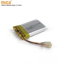 리튬 배터리 602540 리튬 폴리머 배터리 3.7V 550mAh 리튬 이온 디지털 카메라 IEC62133 CE Un38.3용 배터리 승인