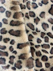 Windbreaker der europäischen und amerikanischen Leopard-Muster-Frauen des Wind-1000g 2020 Sprung-neue Art-Standplatz-Muffen-loses langes Art-Kap-Art Te Gewebe