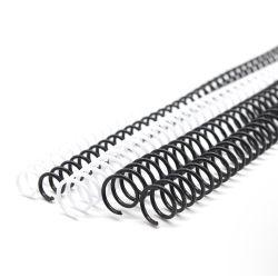 Reliure spirale de la bobine en plastique 10mm (3/8 pouces)