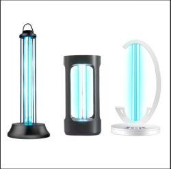 Ce/FCC lampe à ultraviolet LED germicide UV Stérilisateur Stérilisateur UV de la lampe témoin de la désinfection de l'ozone UVC Portable voiture Accueil Hôtel lampe UV