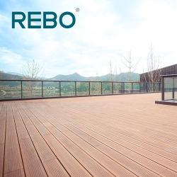 De gemakkelijke Raad van de Bevloering van Scrimber Decking van het Bamboe van de Installatie Openlucht Materiële