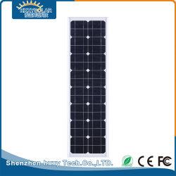 IP65 25 W integrierte Solarstraße-LED-Straßenbeleuchtung für den Außenbereich aus Aluminium