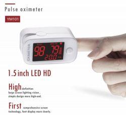 Pulsossimetri per diagnosi di sangue con punta del dito approvati dalla FDA CE TUV 1.5 Dispositivo medico LED da pollici