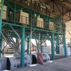 ماكينة طحن الذرة بقدرة 90 طن بسعر