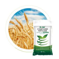aid NPK 22 박사 6 12 중앙 염소 기초 유기 아미노산 옥수수 밥을%s 혼합 화학제품 NPK 비료