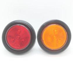 Lanterna traseira LED MK-177 para camiões, automóveis, 4 LEDs de 12/24 V.