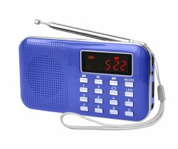 Radio AM FM tarjeta TF Función USB MP3 Modelo 218am