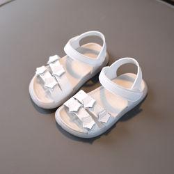 بنات أطفال أزياء لطيف الجلد شقة أحذية (SXW21-B11)