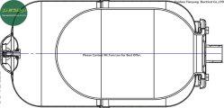 35 Psi Pre-Pressurized calentador de agua solar verticales tanques de expansión