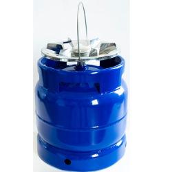 2020 Дейли высокое качество защитное устройство для выбора 6кг газовый цилиндр с горелкой для кемпинга с грилем с установленными на заводе