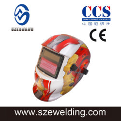 Solar Auto Darkening Welding/Grinding Helmet 인증 마스크 캡