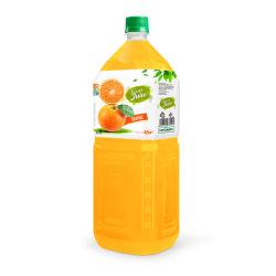 2L botella PET de zumo de naranja de la marca de Rita