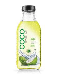 acqua della noce di cocco di sapore del limone 350ml & della menta