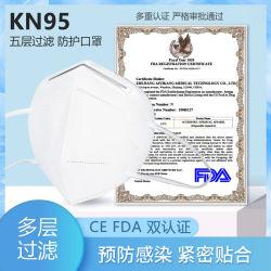 Respiratore polverizzato KN95 della maschera di protezione di protezione di FFP2 Kf95 N95
