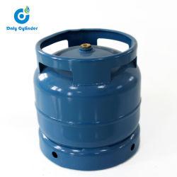 África Gâmbia Filipinas cozinha móveis 12lbs cilindro de gás vazio 6kg do depósito de Gás