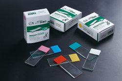 Pädagogische vorbereitete biologische Farbe bereifte Mikroskop-Plättchen