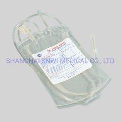 [س&يس] شهادة مستهلكة طبّيّ وحيد دم حقيبة مع إبرة مدافع/تجميع أنابيب/أخذ عيّنة كيس