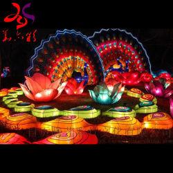 De traditionele Chinese Decoratie van de Lantaarns van het Festival van de Herfst van de Decoratie van Sopraporta van het Festival van de Lantaarn van de Zijde MEDIO