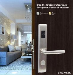 Aço inoxidável Hotel fechadura electrónica (V-RF014A-SS)
