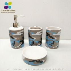 Керамическая ванная комната,-водоочиститель тумблерный щетки мыло блюдо