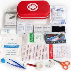 مستلزمات طبية محمولة صندوق أدوات الإسعافات الأولية المنزلية الصغيرة الشخصية طقم الإسعافات الأولية لحالات الطوارئ عند مخيم السفر الصغيرة المقاوم للمياه