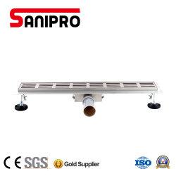 Sanipro пол из нержавеющей стали для дренажа душ в ванной комнате