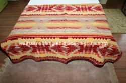 Reine australische Merinojungfrau-Wolle-Decke