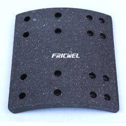 Fricwel Auto Parts forros de freno de tambor de alta calidad bloque para camión y automóvil