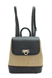حقيبة ظهر جديدة لتصميم بسيط جديد لتصميم محفظة سترو مزيف بسعة كبيرة