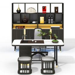 2020 Última Design agradável folheado de madeira MDF Executivo Executive mesa de café