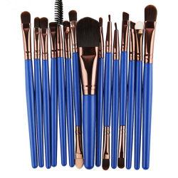 15pcs Style maquillaje en polvo pinceles pinceles de maquillaje de la Fundación