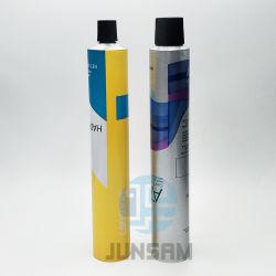 Max 6 цветов офсетной печати алюминиевый контейнер для Косметического слоя трубы с цилиндрической головкой