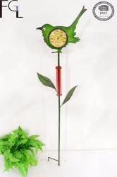 Jardin en métal de fer Jeu avec thermomètre